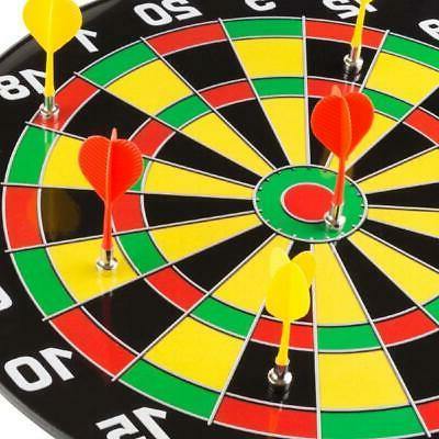 Magnetic Dart Board with 16 6 Colorful Built