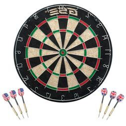 GSE Games & Sports Expert Regulation Size Dartboard with 6 S